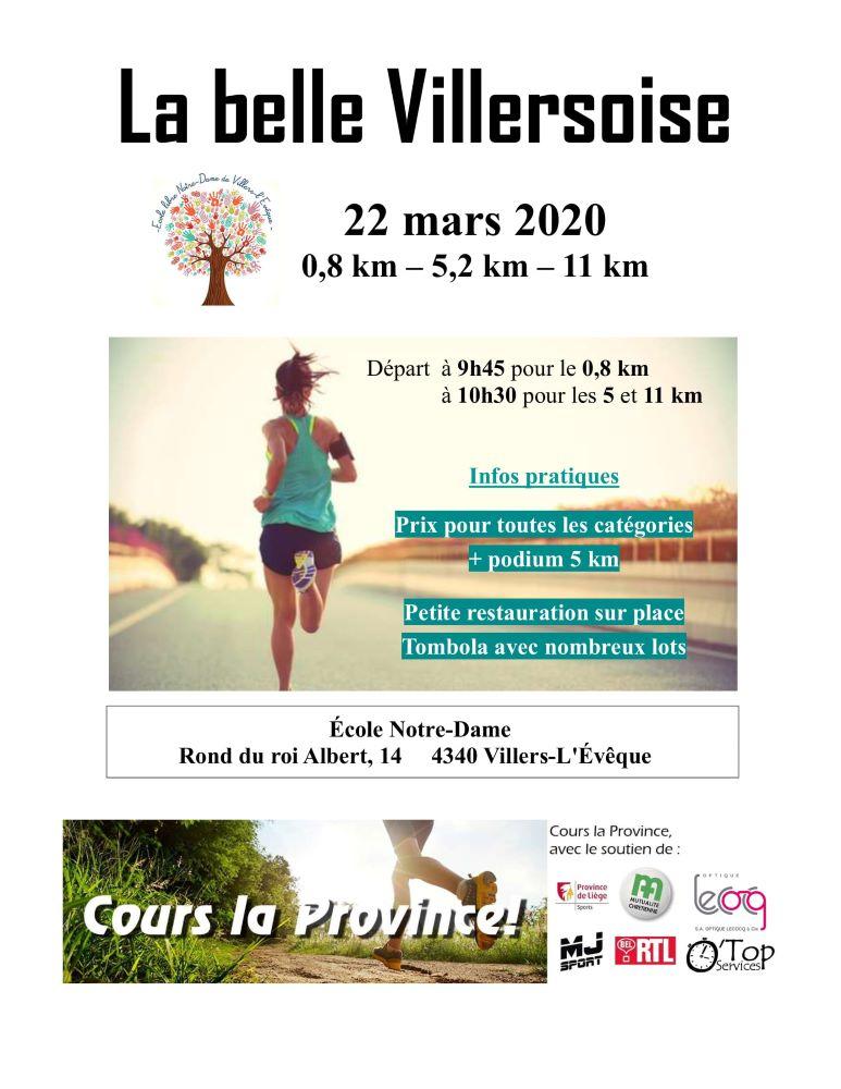 La Belle Villersoise 2020-03-22