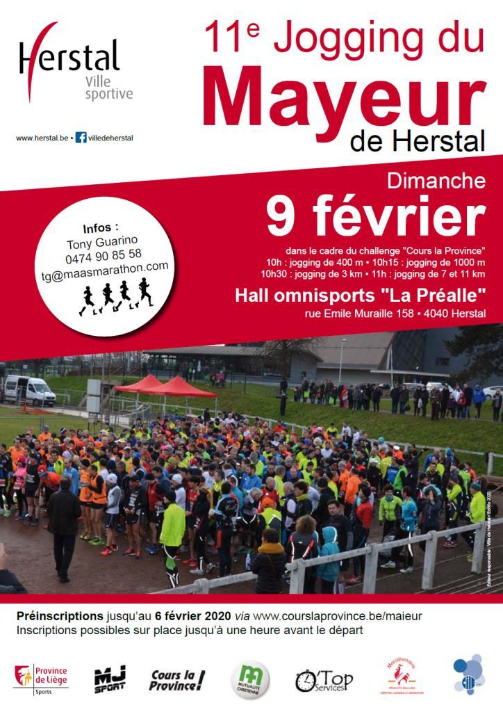Jogging du Maïeur 2020-02-09