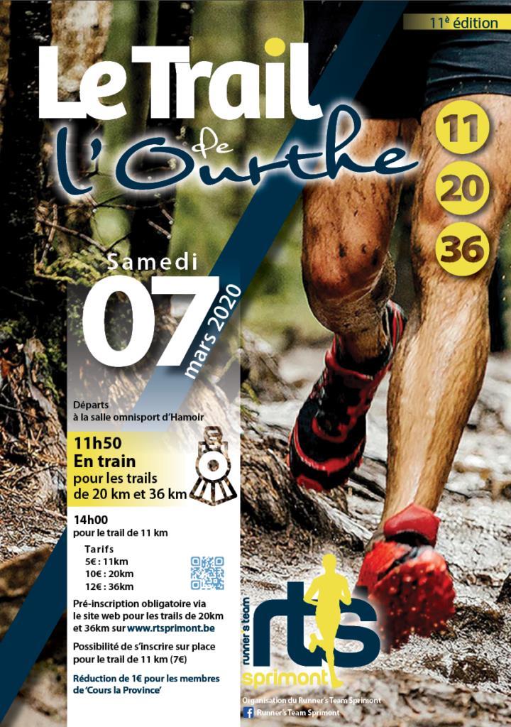 Trail de l'Ourthe 2020-03-07
