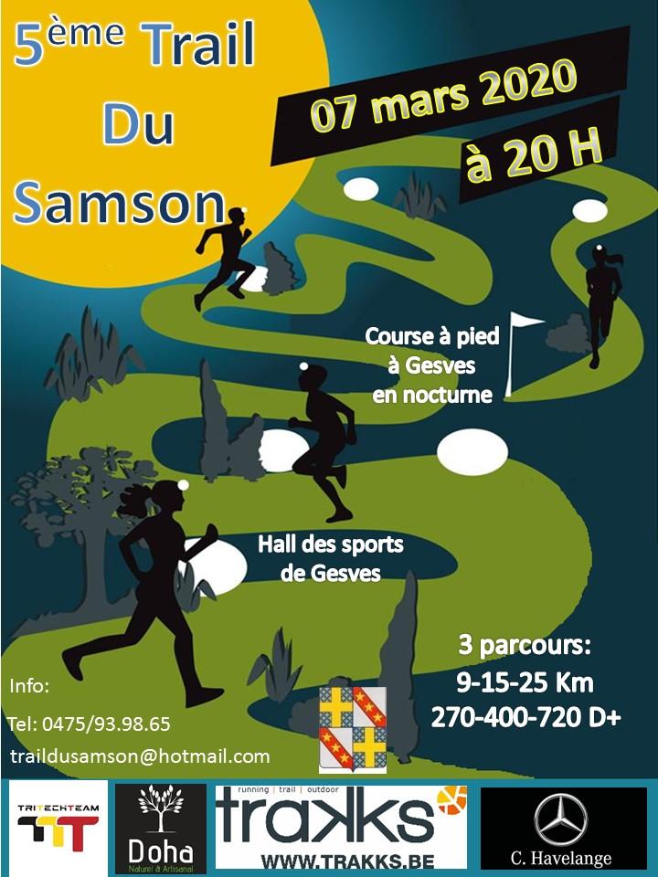 Night Trail du Samson 2020-03-07